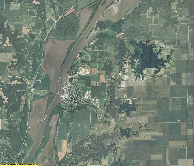 Marshall County, Illinois aerial photography