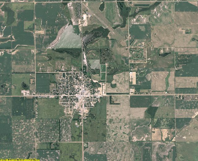 Marshall County, South Dakota aerial photography