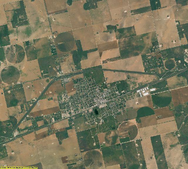 Martin County, Texas aerial photography