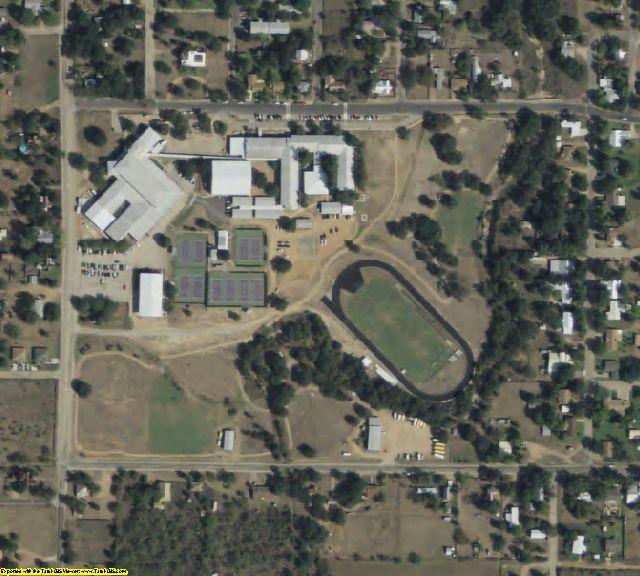 Mason County, TX aerial photography detail