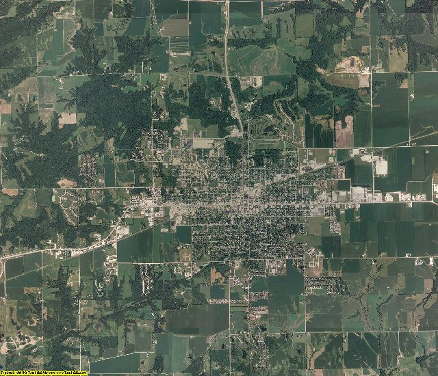 McDonough County, Illinois aerial photography