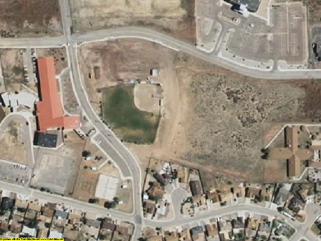 McKinley County, NM aerial photography detail