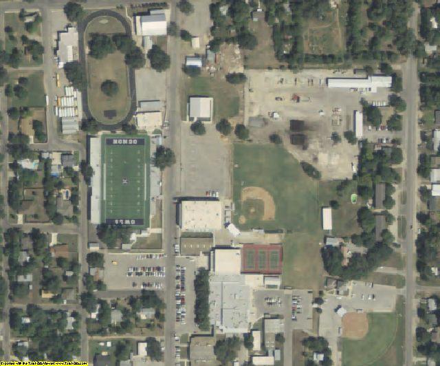 Medina County, TX aerial photography detail