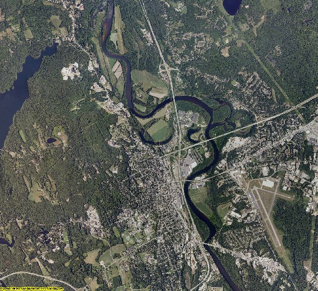 Merrimack County, New Hampshire aerial photography