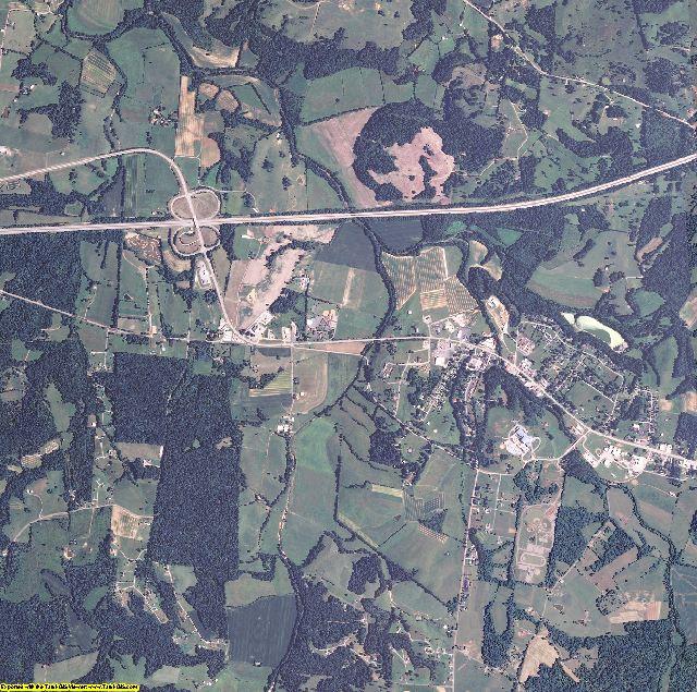 Metcalfe County, Kentucky aerial photography