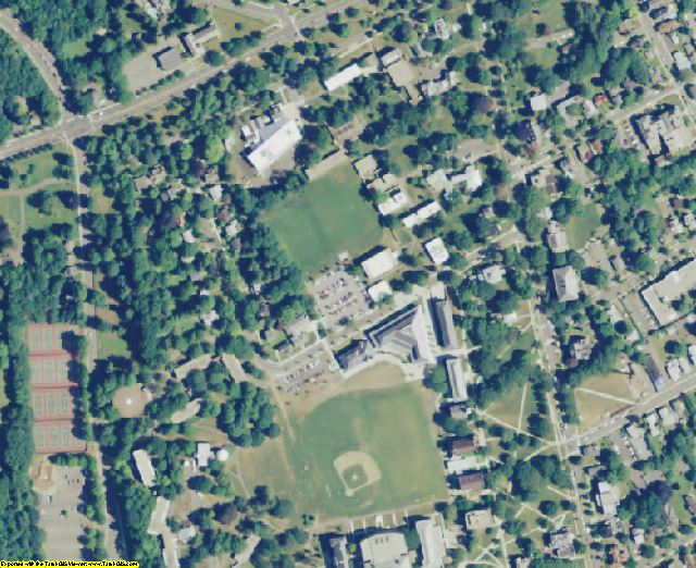 Middlesex County, CT aerial photography detail