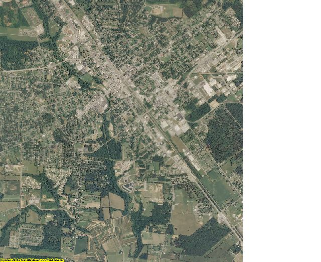 Moore County, Tennessee aerial photography