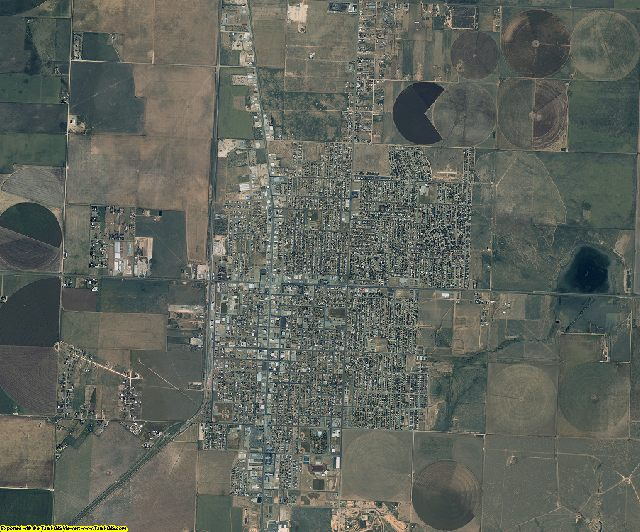 Moore County, Texas aerial photography