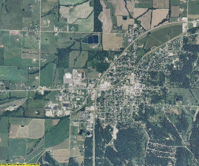 Morgan County, Missouri aerial photography
