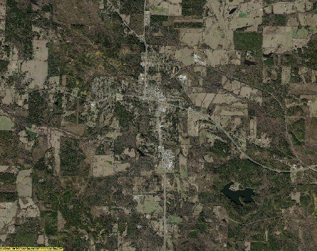 Morris County, Texas aerial photography