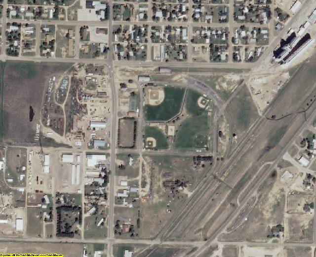 Morton County, KS aerial photography detail