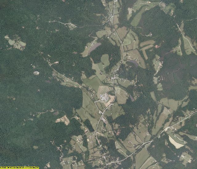 Nelson County, Virginia aerial photography