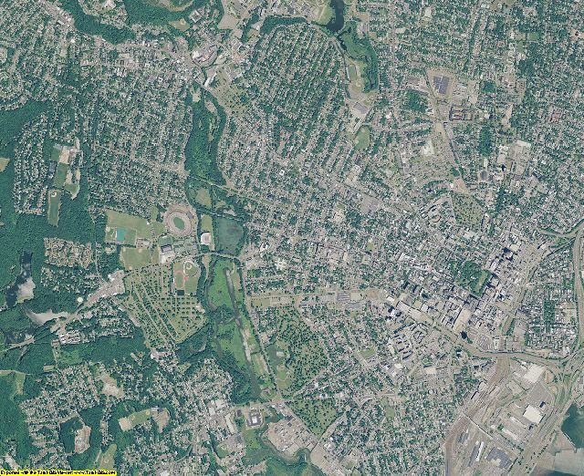 New Haven County, Connecticut aerial photography