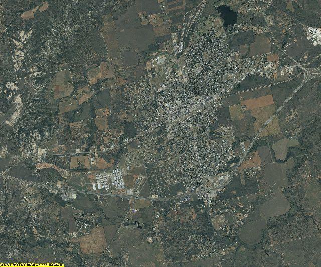 Nolan County, Texas aerial photography