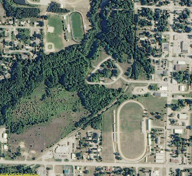 Oceana County, MI aerial photography detail