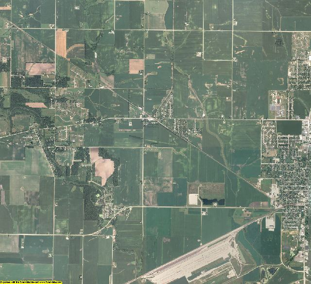 Ogle County, Illinois aerial photography