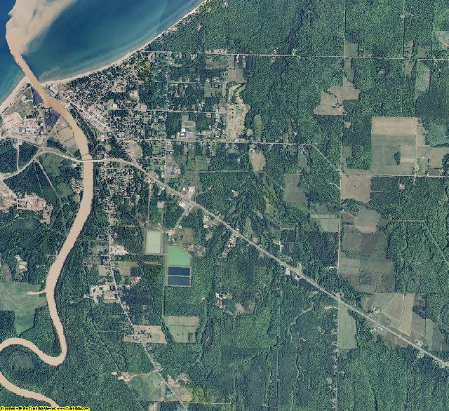 Ontonagon County, Michigan aerial photography