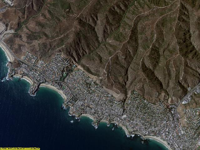 Orange County, California aerial photography