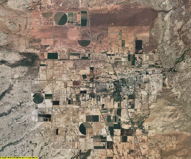Otero County, New Mexico aerial photography
