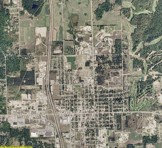 Otsego County, Michigan aerial photography