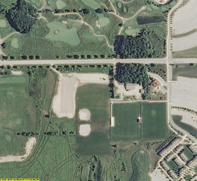 Ottawa County, MI aerial photography detail