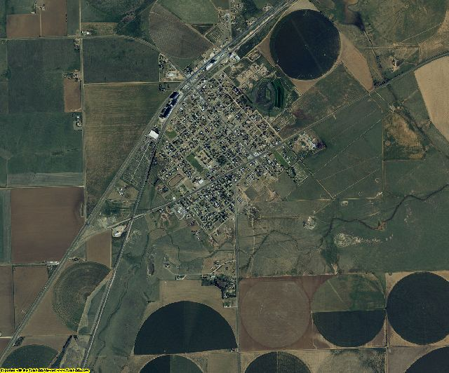 Parmer County, Texas aerial photography