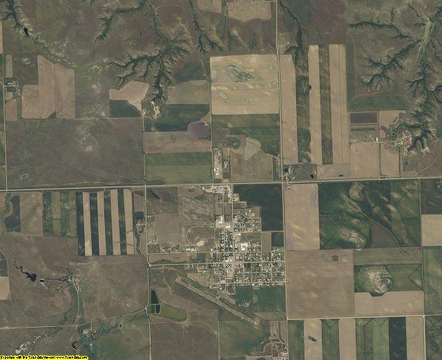 Perkins County, South Dakota aerial photography