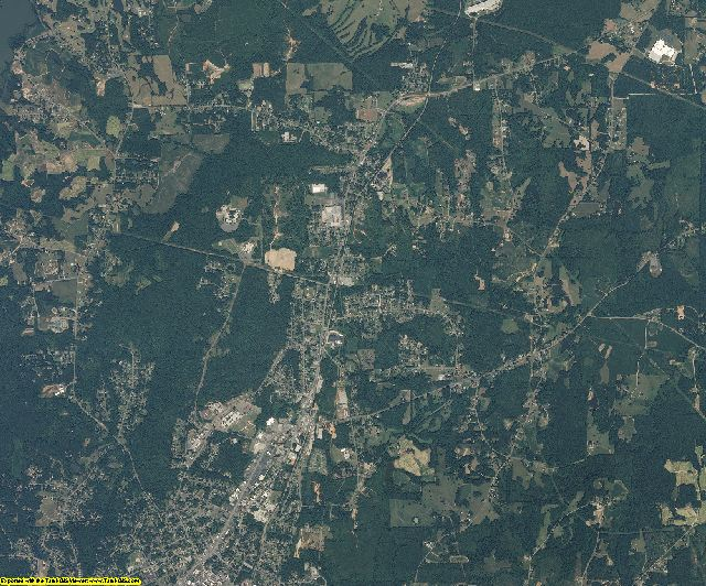 Person County, North Carolina aerial photography