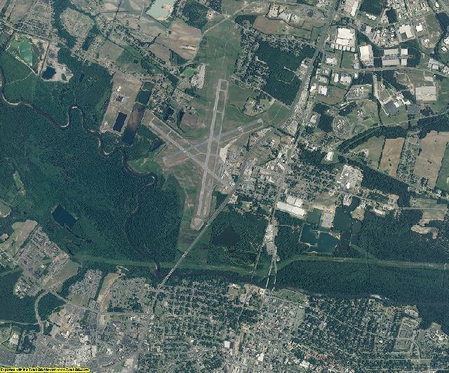 Pitt County, North Carolina aerial photography