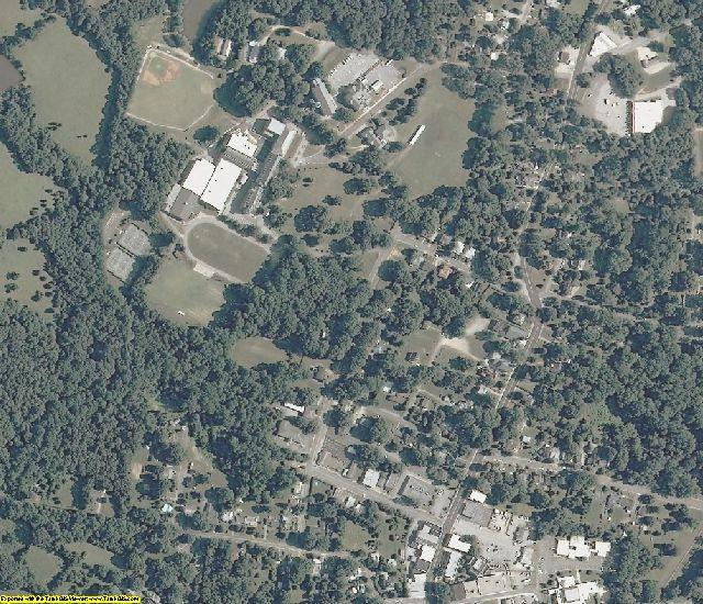 Pittsylvania County, VA aerial photography detail