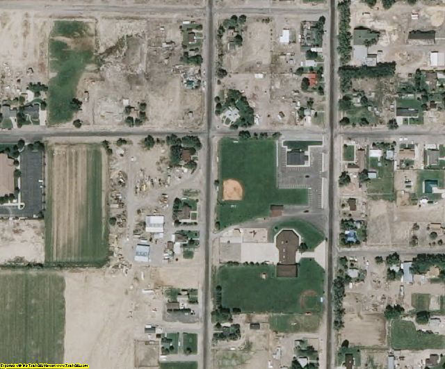 Piute County, UT aerial photography detail