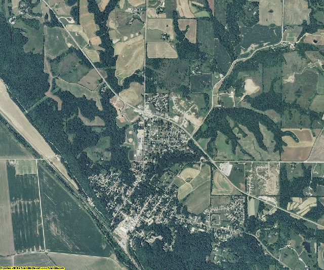 Platte County, Missouri aerial photography