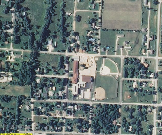 Polk County, MO aerial photography detail