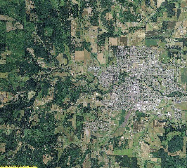 Polk County, Oregon aerial photography