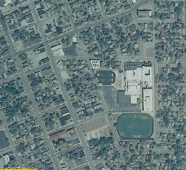 Porter County, IN aerial photography detail