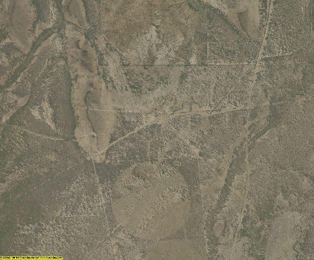 Presidio County, Texas aerial photography