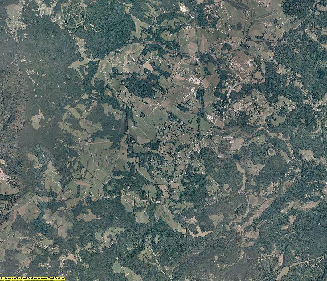 Preston County, West Virginia aerial photography