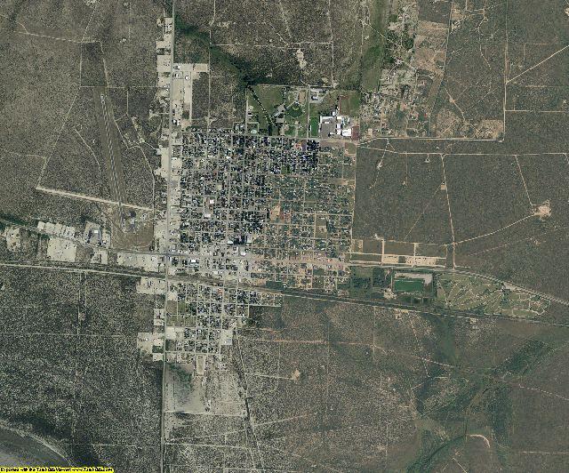 Reagan County, Texas aerial photography