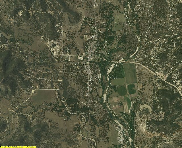 Real County, Texas aerial photography