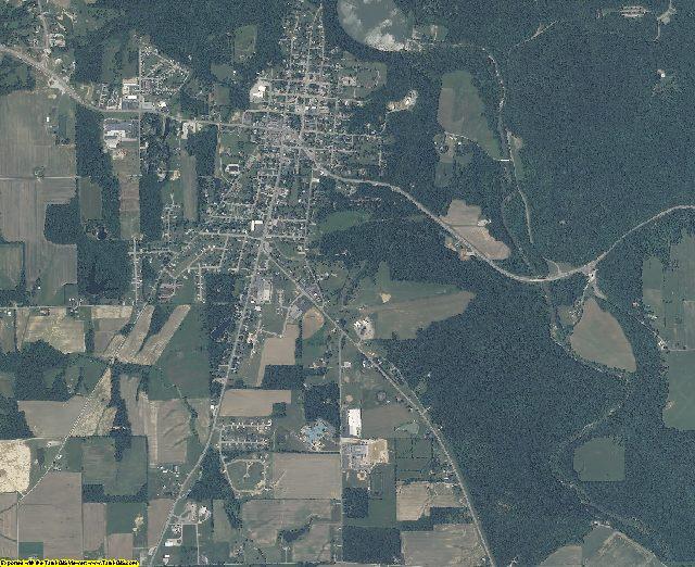 Ripley County, Indiana aerial photography