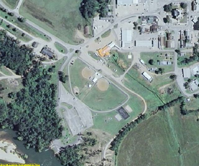 Ripley County, MO aerial photography detail