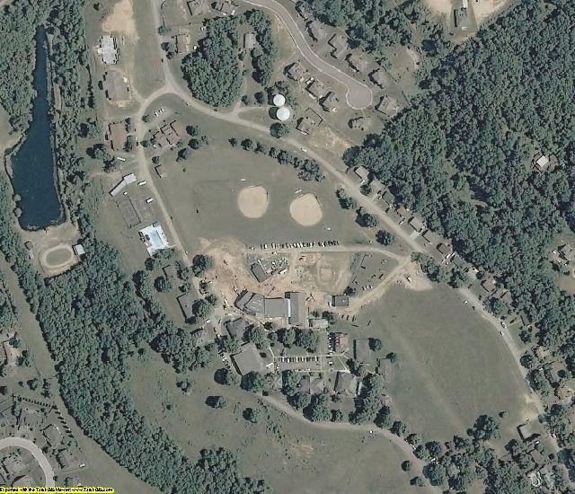 Roanoke County, VA aerial photography detail