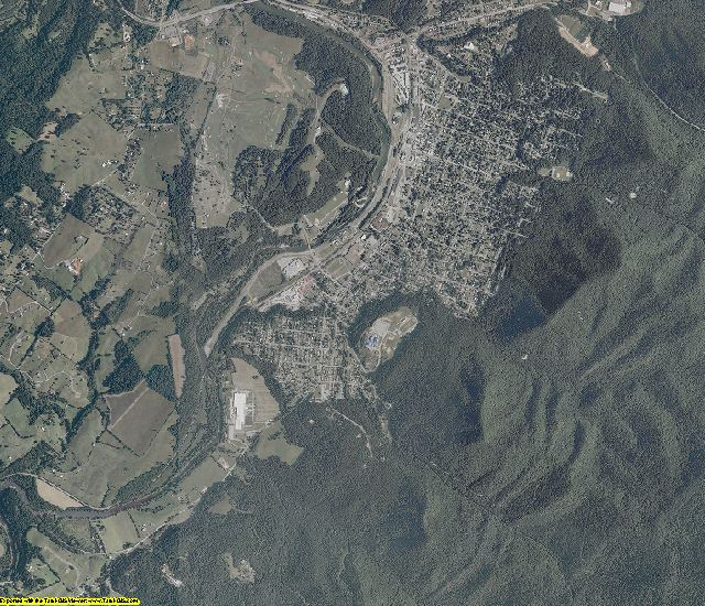 Rockbridge County, Virginia aerial photography