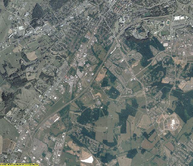 Rockingham County, Virginia aerial photography