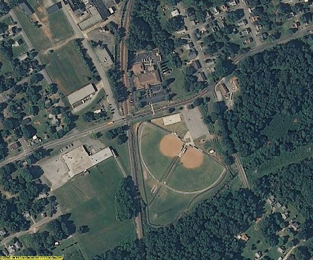 Rowan County, NC aerial photography detail
