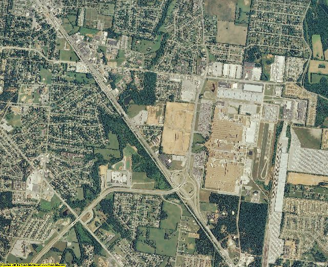 Rutherford County, Tennessee aerial photography