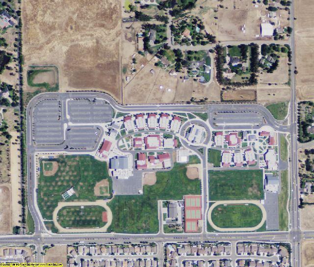 Sacramento County, CA aerial photography detail