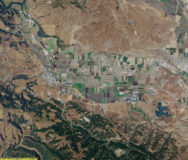 San Benito County, California aerial photography