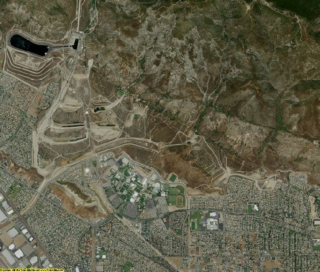 San Bernardino County, California aerial photography