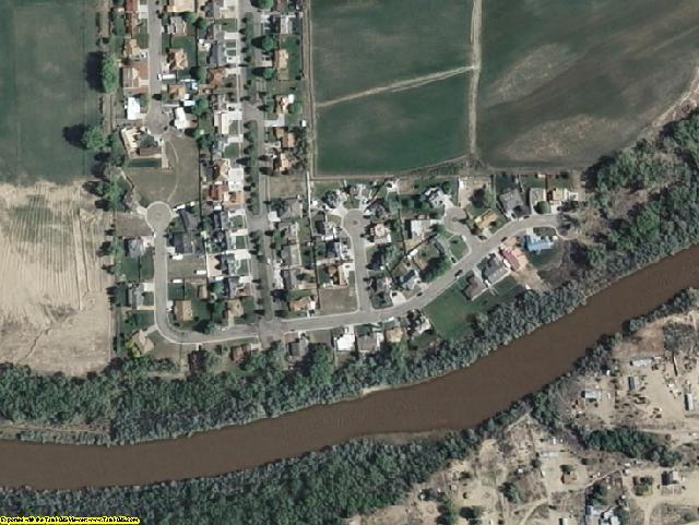 San Juan County, NM aerial photography detail